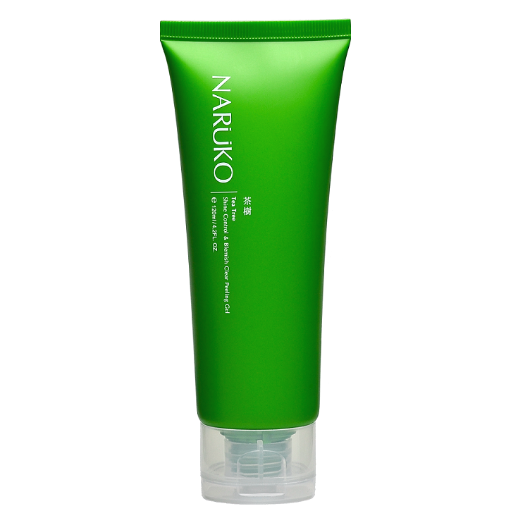 NARUKO Tea Tree Shine Control & Blemish Clear Peeling Gel -- Shop Korean Japanese Taiwanese beauty at Shop Chuusi