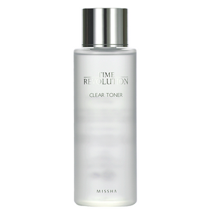 MISSHA Time Revolution Clear Toner -- Shop Korean Japanese Taiwanese beauty at Shop Chuusi