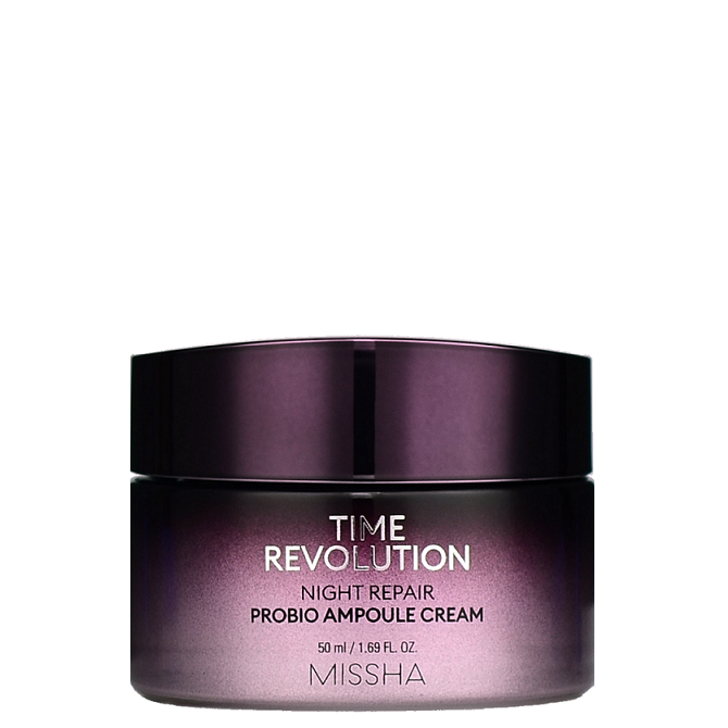 MISSHA Time Revolution Night Repair Probio Ampoule Cream-- Shop
