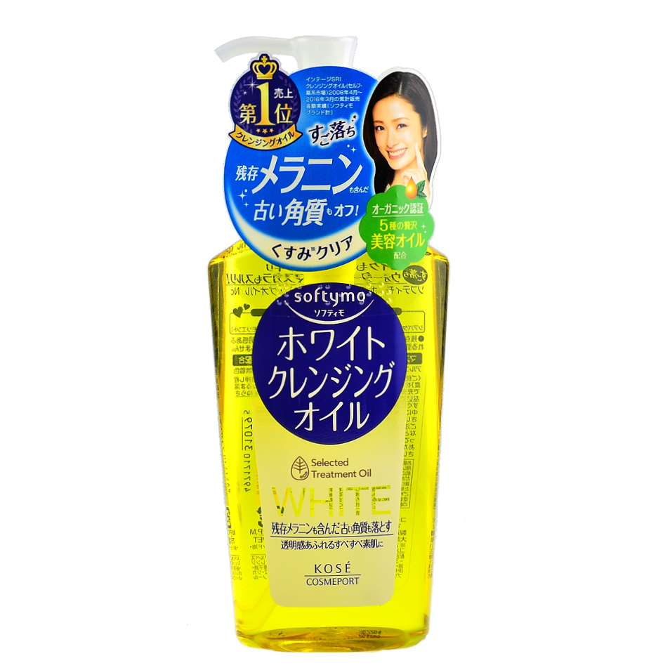 KOSE Softymo White Cleansing Oil | Shop Kose Japanese Skincare at ShopChuusi