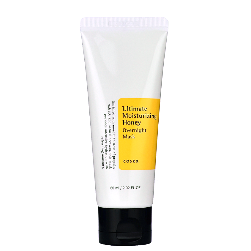 COSRX Ultimate Moisturizing Honey Overnight Mask -- Shop Korean Japanese Taiwanese Skincare at Shop Chuusi