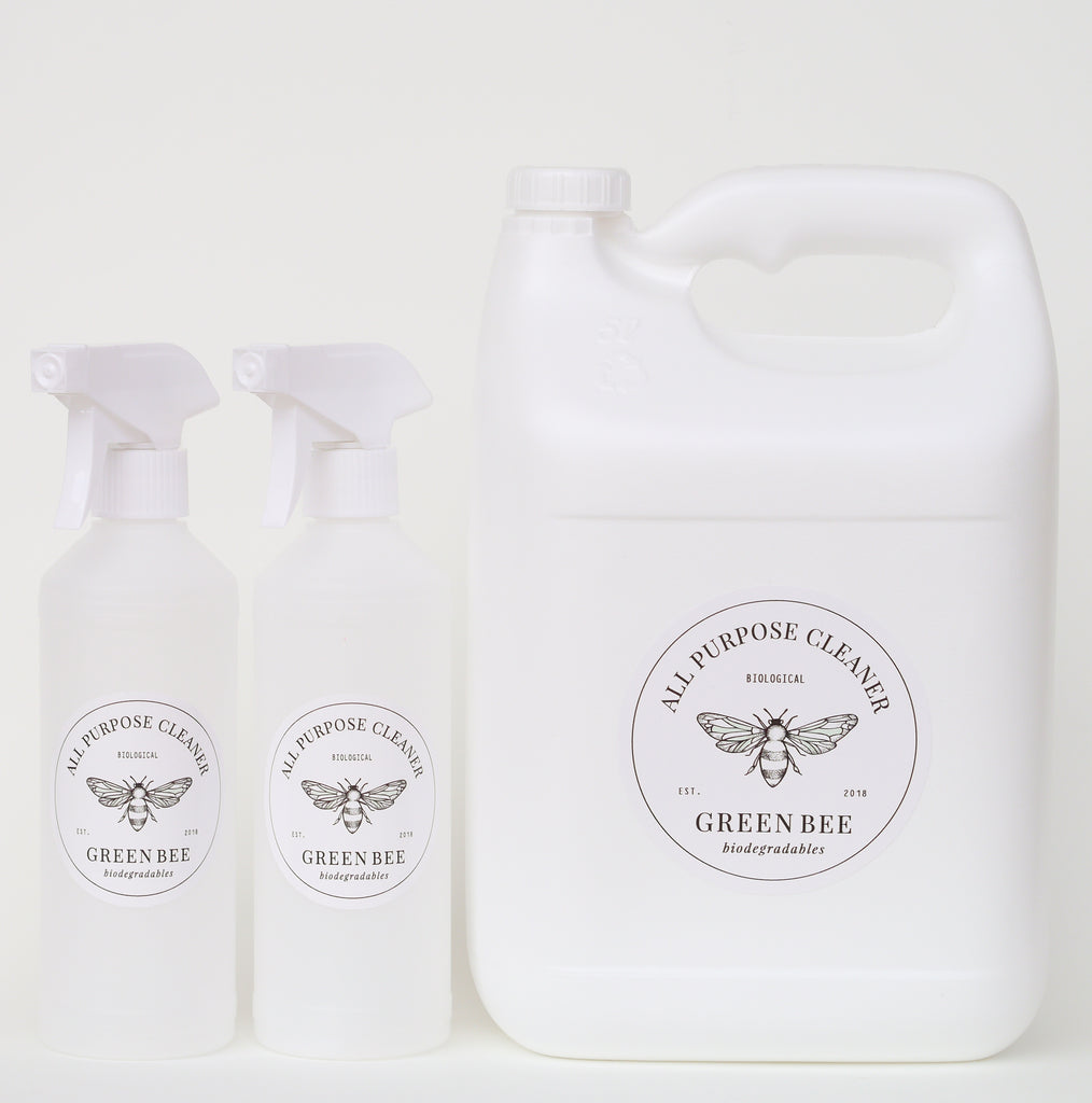 All-purpose microbial cleaner - 5 litres plus plastic spray bottles
