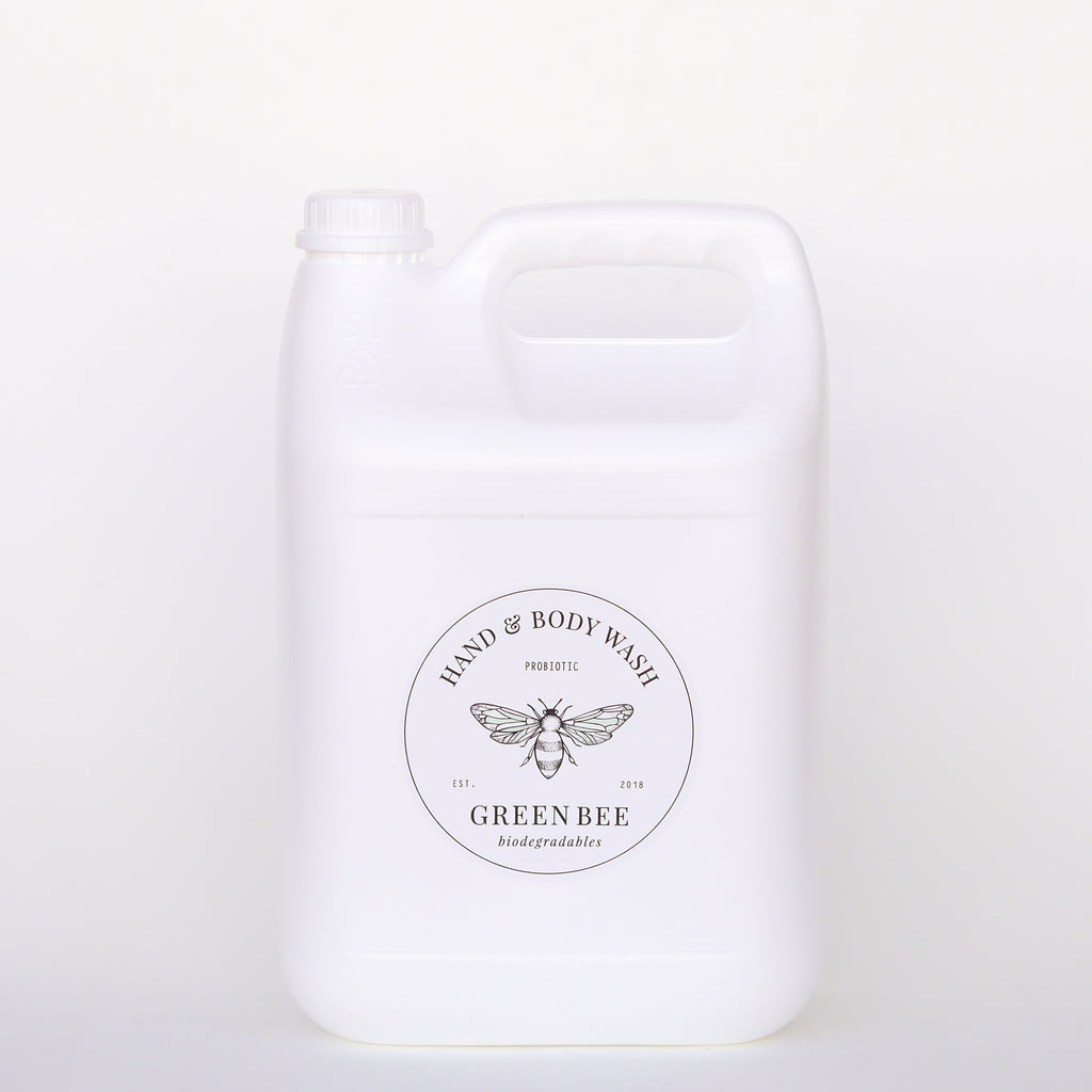 Hand & body probiotic wash - 5 litre refill