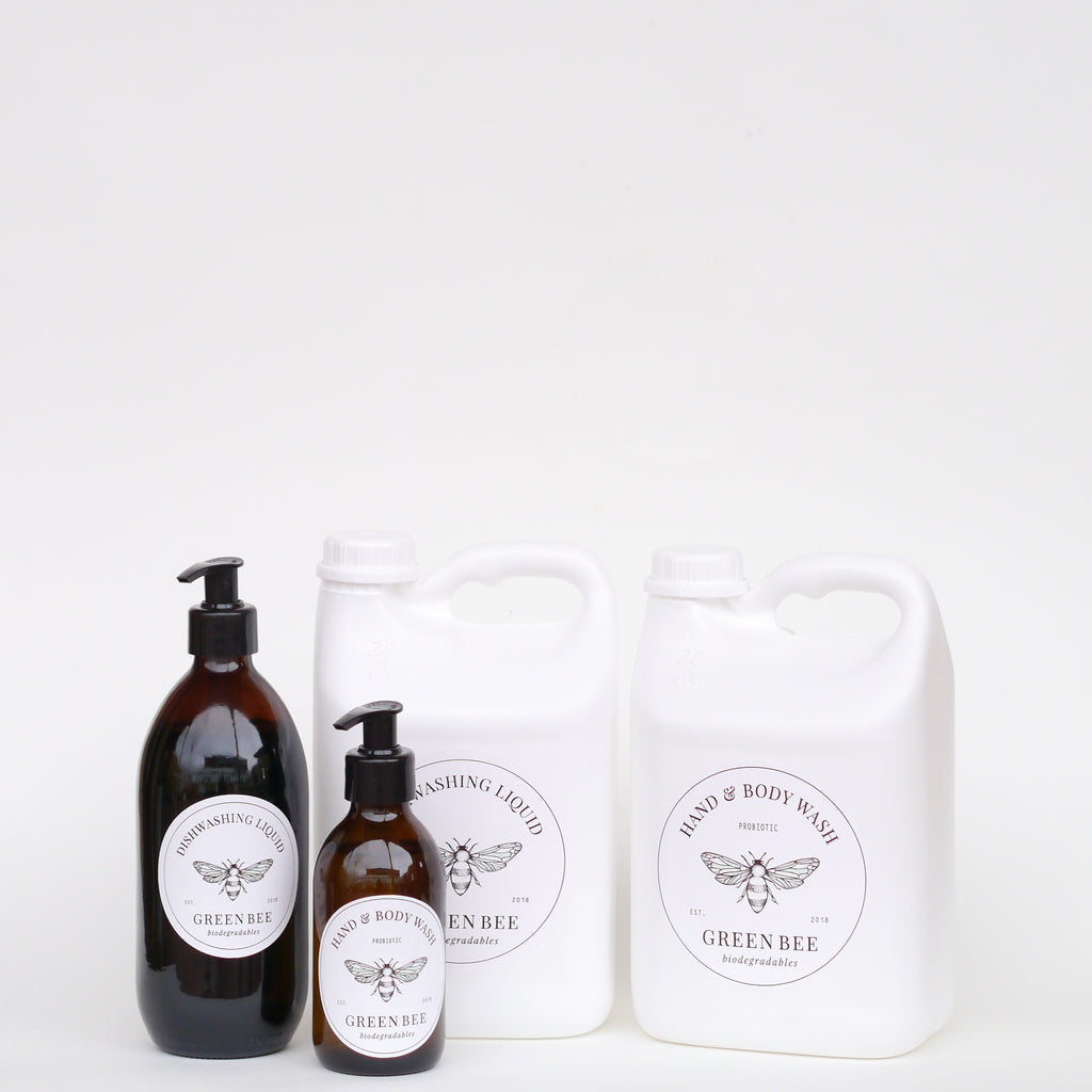 Mini Pack - Dishwashing Liquid // Hand & Body Wash - Glass