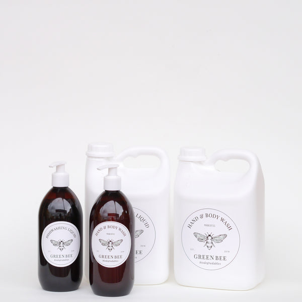 Mini Pack - Dishwashing Liquid // Hand & Body Wash - Plastic