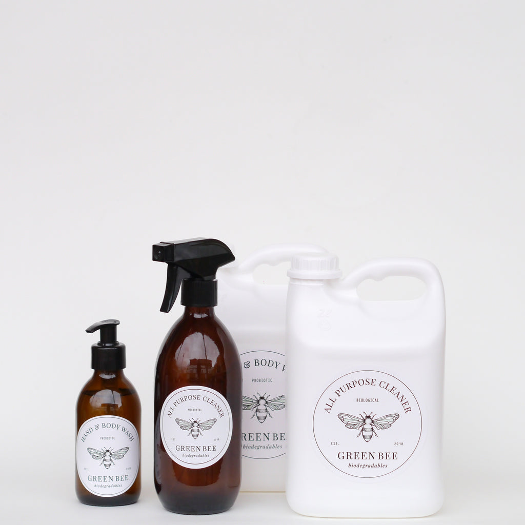 Mini Pack - All Purpose Cleaner // Hand & Body Wash - Glass