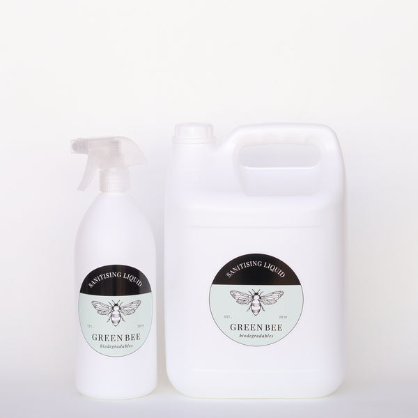 Sanitising Liquid - Anti-viral - 6 litres including 1 litre spray bottle