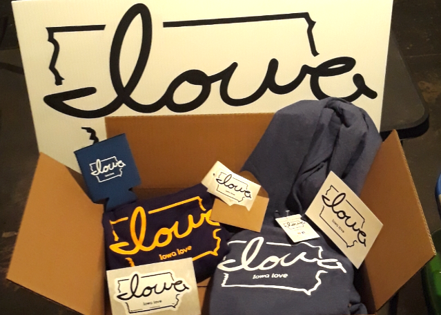 "Want an ""Iowa love"" Care Package to Lift Your Spirits in this Cold & Damp Weather??"