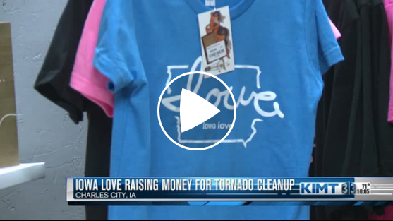 "Watch on KIMT: ""Iowa-based Stores Partnering for Tornado Recovery Efforts"""