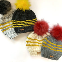 Load image into Gallery viewer, b.e. happe Beanies - Universities Colors