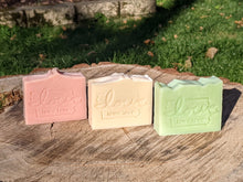 "Load image into Gallery viewer, ""Iowa love"" Old-Fashioned Handmade Soaps"