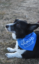 "Load image into Gallery viewer, Limited Edition: ""Iowa love"" Doggie Bandana (Fundraiser for P.E.T.P.A.L.S.)"