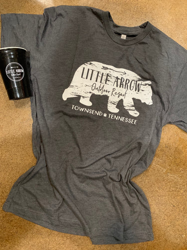 Little Arrow Bear Tee