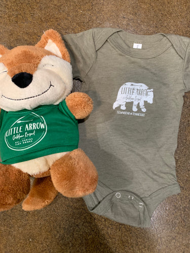 Little Arrow Bear Onesie