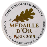 Medaille d'or concours agricole vin rouge 2019