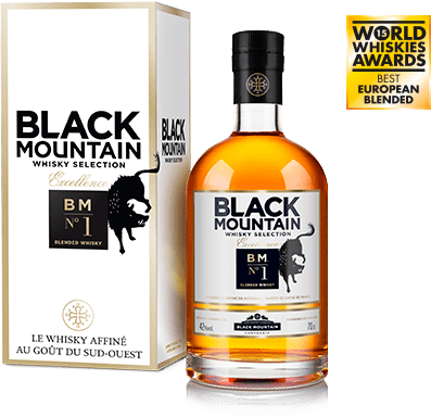 "Black Mountain <br> ""BM N°1"" <br> Excellence <br> Whisky"