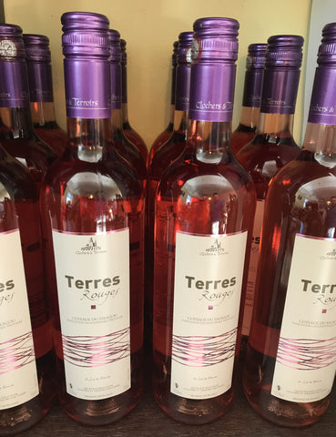 "Clochers & Terroirs<br>""Terres rouges""<br>Rosé"