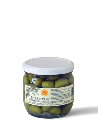 Olives vertes Lucques AOP