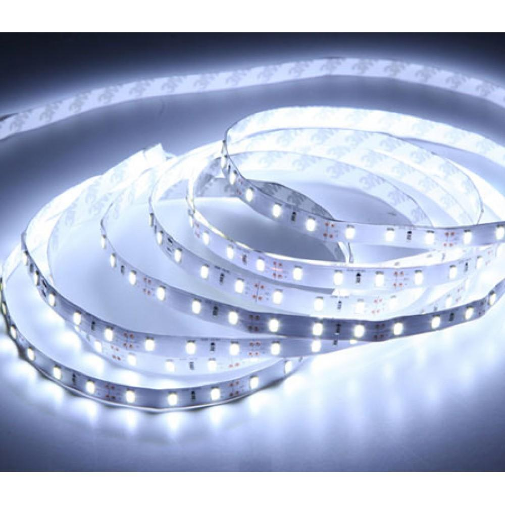 DC LED 3014 Çipli 6 W/m 90Led/m İç mekan Şerit Led 10000K