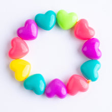 Load image into Gallery viewer, Chunky Hearts Bracelet