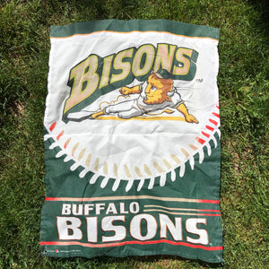 Vintage Buffalo Bisons Banner