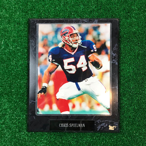 Vintage Buffalo Bills Chris Spielman Plaque