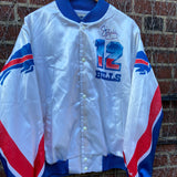 Vintage Buffalo Bills Jim Kelly Chalk Line Jacket Size L
