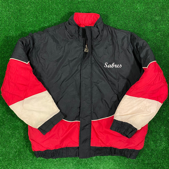 Vintage Buffalo Sabres Winter Jacket Size L