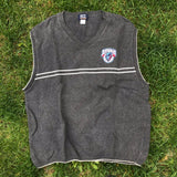 Vintage Buffalo Destroyers Sweater Vest Size XL