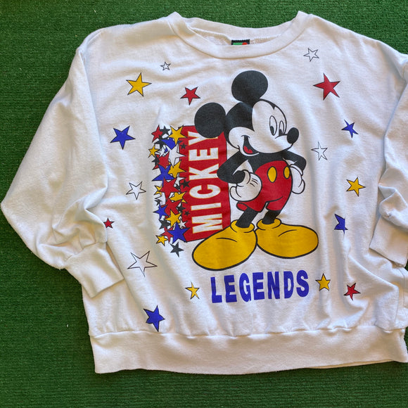 Vintage Mickey Mouse Crewneck Size S