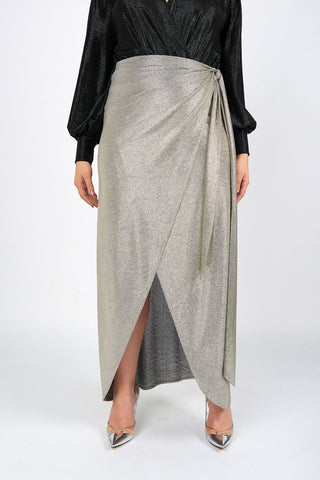 Carrie Silver Evening Sarong - Maer World