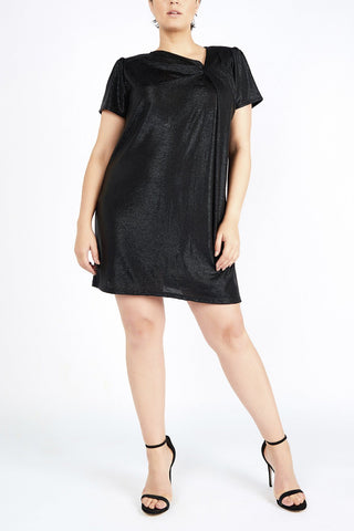 Black Plus size party dress designer evening plus size clothes