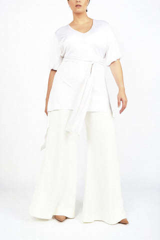 Ana White Wrap Tunic - Maer World