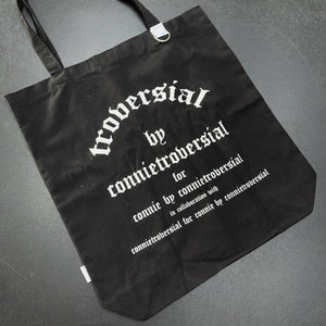 Troversial by Connie Grocery Tote Bag