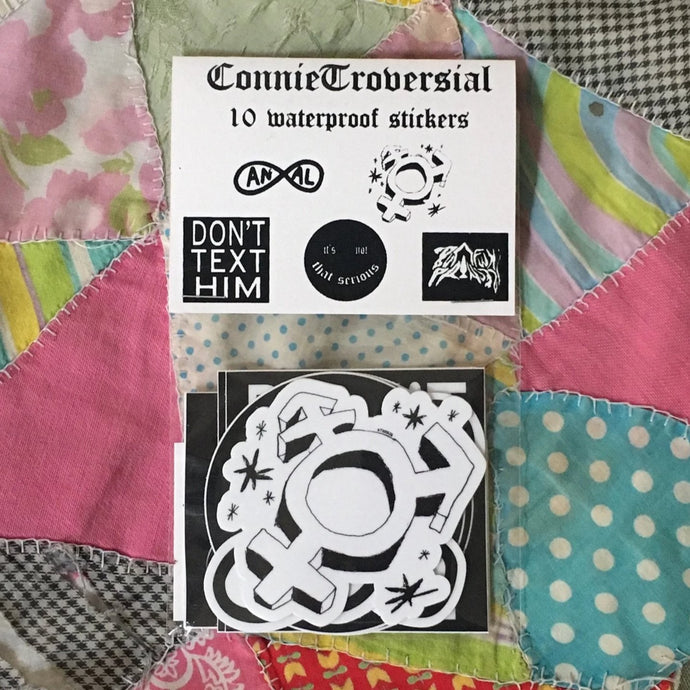 ConnieTroversial Sticker Pack
