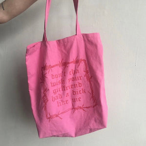Don't Cha Grocery Tote Bag