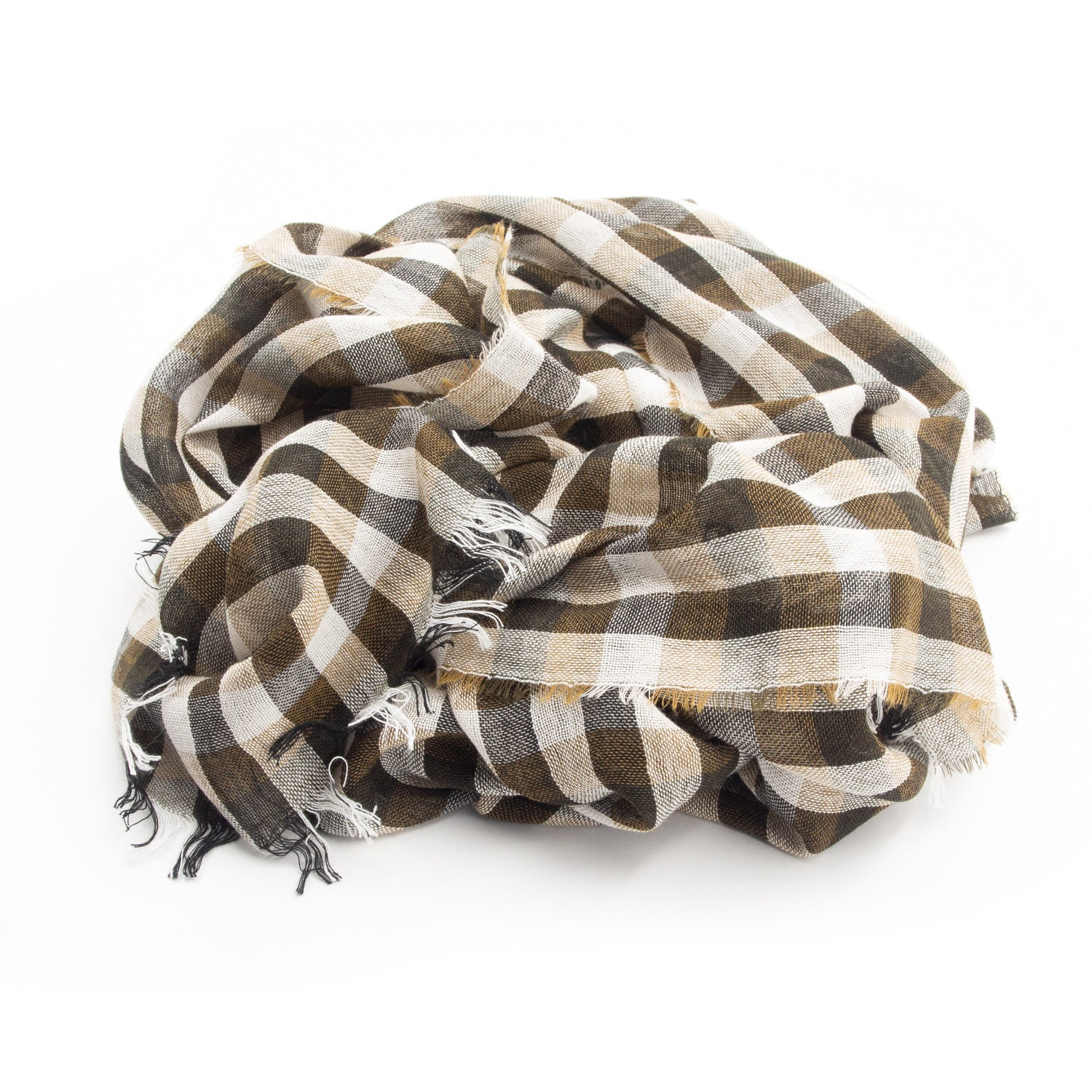 Doria & Dojola Square Virgin Wool Viscose Scarf. 55% Viscose 45% Virgin Wool 52 cm x 190 cm. 100% Made in Italy.