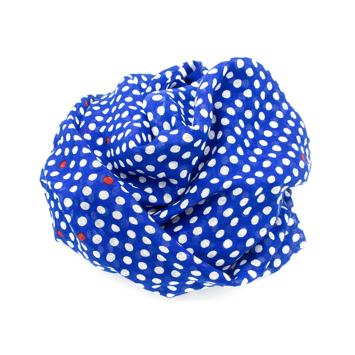 Pois Linen Cotton Foulard