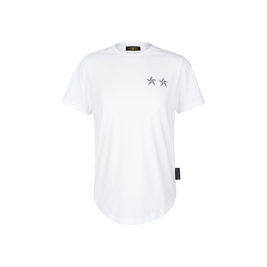 Lost Romain T-Shirt White