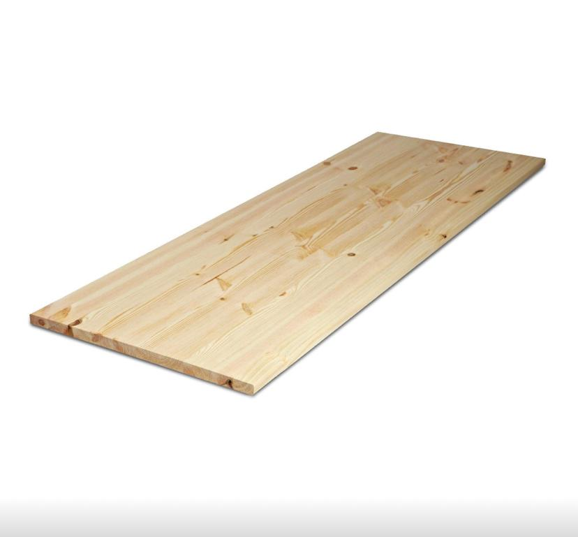 Lapland Pine Furniture Boards A/B Grade 120 Grit Sanded Kiln Dried 12% Moisture Content