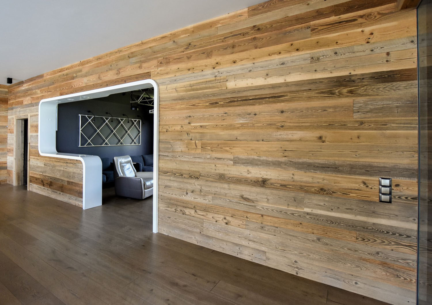 Reclaimed Pine Tongue And Groove Wall Panelling Sold Per Piece
