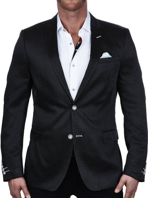 Blazer Descartes Dot  Black