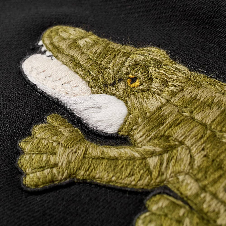 PALM ANGELS CROCODILE CREW SWEAT