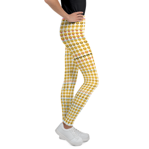 Emoji Youth Leggings