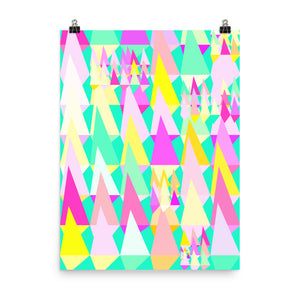 Candy Colored Triangles