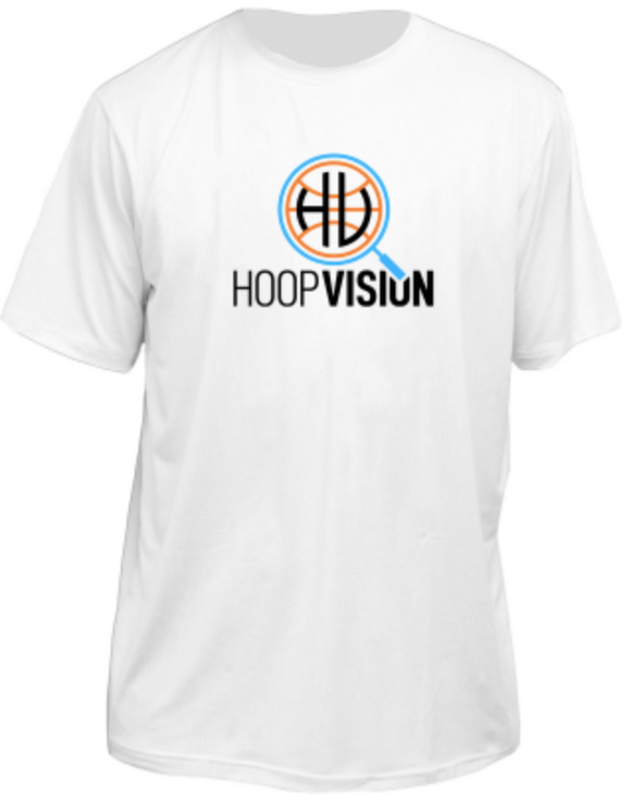 Hoop Vision White Dri-Fit T-Shirt