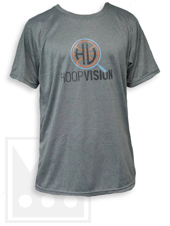 Hoop Vision Gray Dri-Fit T-Shirt