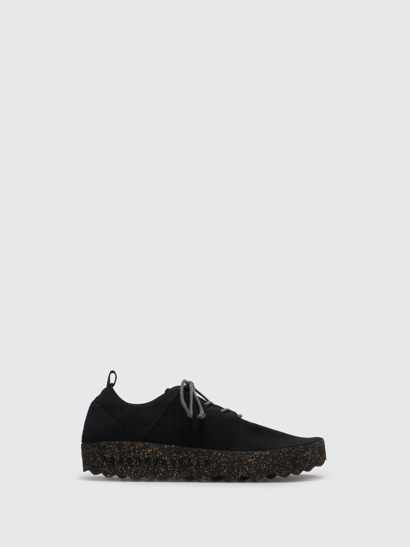 ASPORTUGUESAS Black Lace-up Trainers