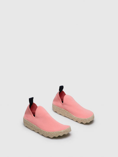 ASPORTUGUESAS LightPink Elasticated Trainers