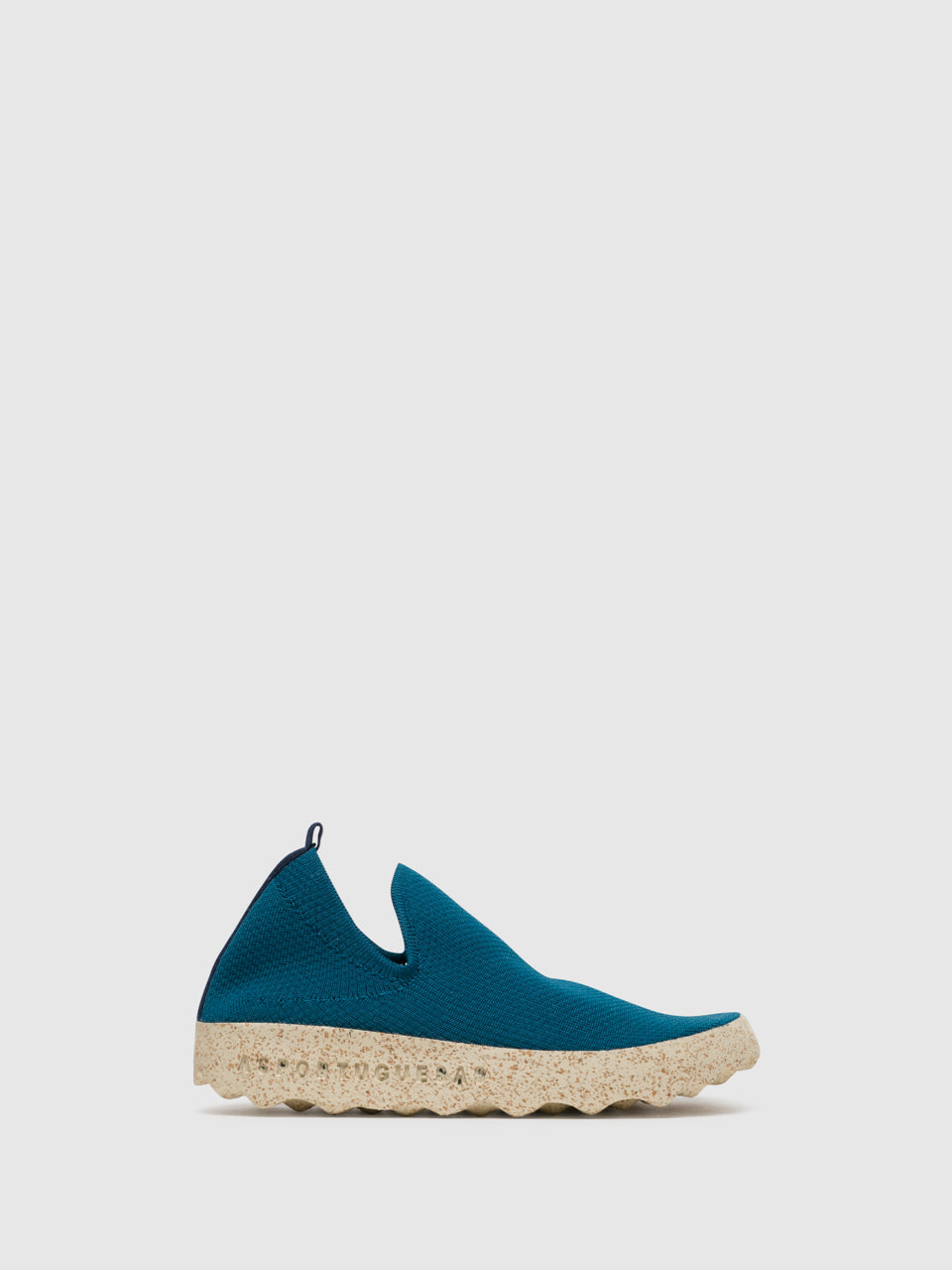 ASPORTUGUESAS Blue Elasticated Sneakers